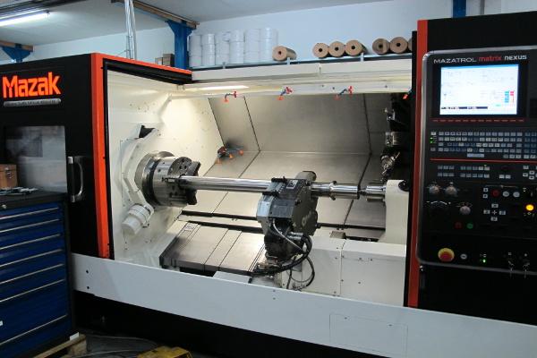 CNC - Revolverdehmaschine